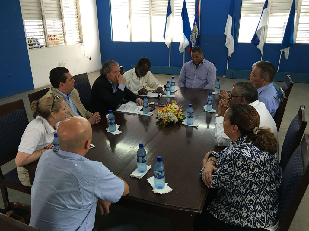 OAS Belize Office Involved in the Planning of OAS Secretary General's Official Visit to Belize